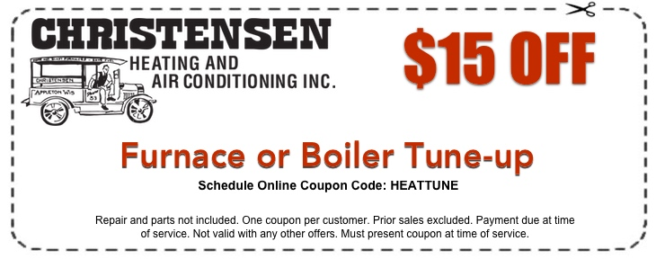 Boiler Or Furnace Coupon Christensen Heating And Air