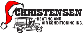 Christensen Heating and Air Conditioning Holiday Logo